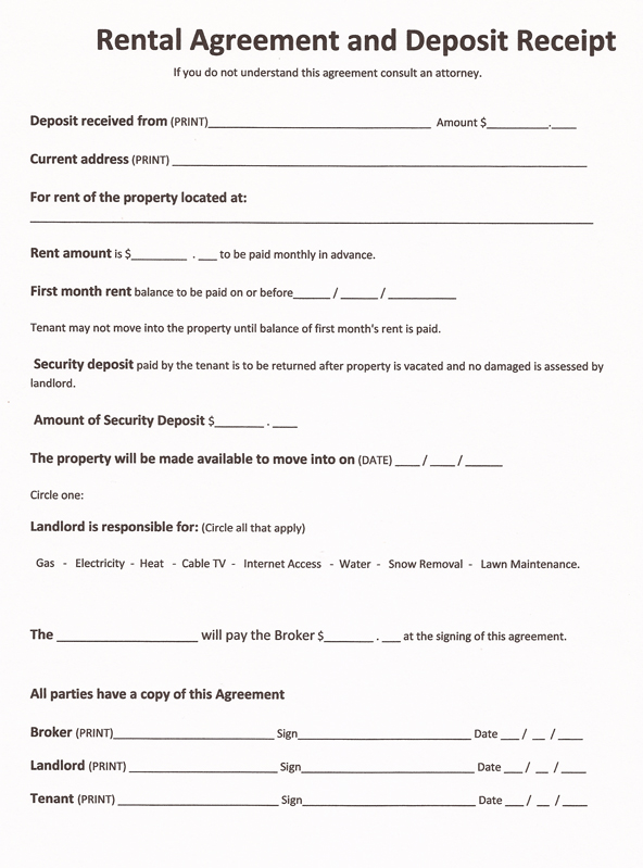 Free Rental Lease Agreement Template - Legally binding loan agreement template