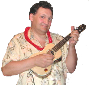 Roger Chartier with Ukulele